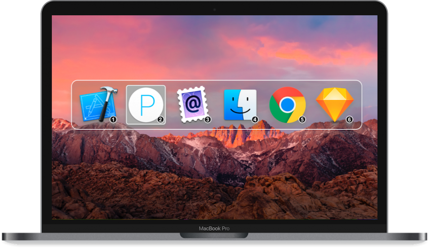 Command-Tab Plus - Applications and Windows Switcher for Mac